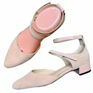 Sacha London Pink Pointy Ballet Flats 6.5 Size